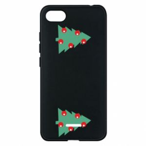 Xiaomi Redmi 6A Case Christmas trees on the chest