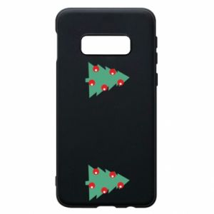 Samsung S10e Case Christmas trees on the chest