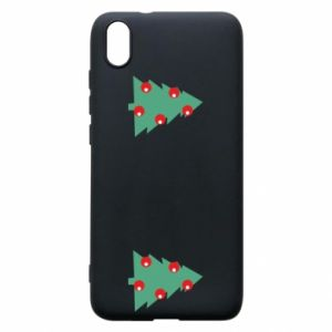 Xiaomi Redmi 7A Case Christmas trees on the chest