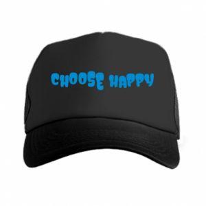 Czapka trucker Choose happy