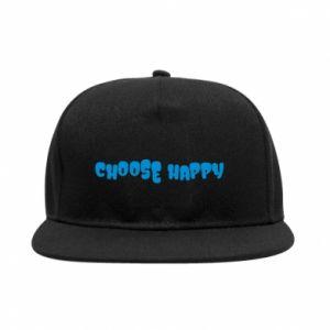 Snapback Choose happy