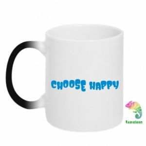 Kubek-kameleon Choose happy