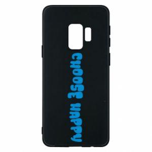 Etui na Samsung S9 Choose happy