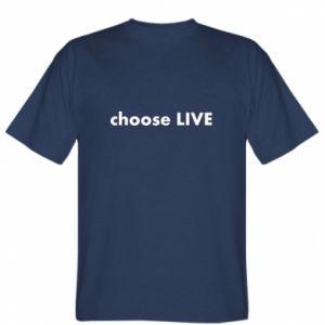 Koszulka Choose live