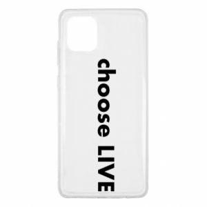 Etui na Samsung Note 10 Lite Choose live
