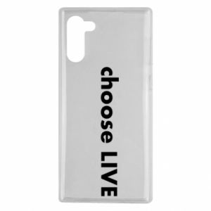 Etui na Samsung Note 10 Choose live