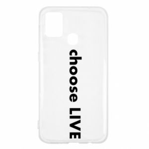 Etui na Samsung M31 Choose live