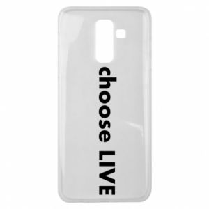 Etui na Samsung J8 2018 Choose live