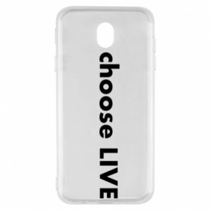 Etui na Samsung J7 2017 Choose live