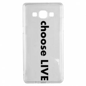 Etui na Samsung A5 2015 Choose live
