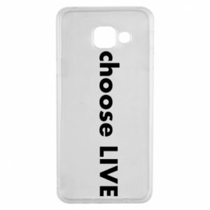 Etui na Samsung A3 2016 Choose live