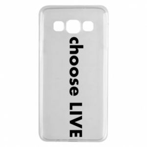 Etui na Samsung A3 2015 Choose live