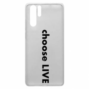 Etui na Huawei P30 Pro Choose live