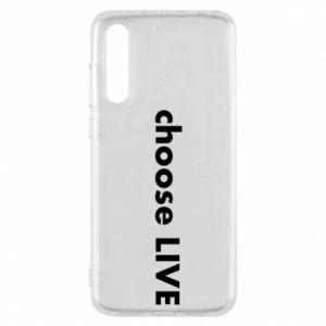 Etui na Huawei P20 Pro Choose live