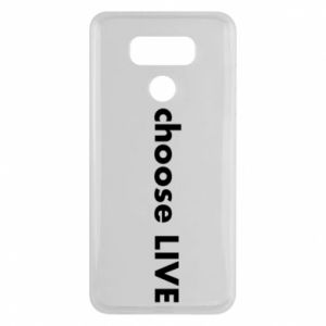 Etui na LG G6 Choose live
