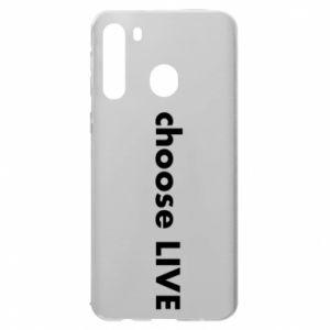Etui na Samsung A21 Choose live