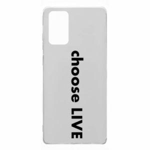 Etui na Samsung Note 20 Choose live