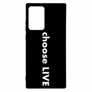 Etui na Samsung Note 20 Ultra Choose live