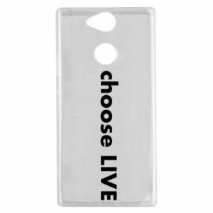 Etui na Sony Xperia XA2 Choose live