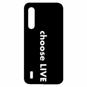 Etui na Xiaomi Mi9 Lite Choose live