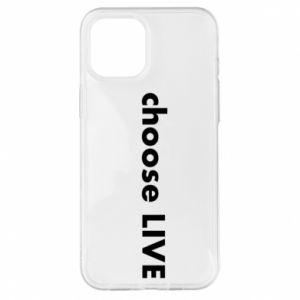 Etui na iPhone 12 Pro Max Choose live