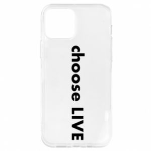Etui na iPhone 12/12 Pro Choose live
