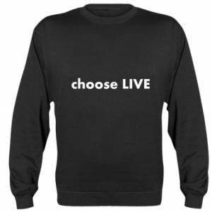 Bluza (raglan) Choose live