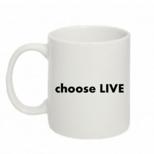 Kubek 330ml Choose live