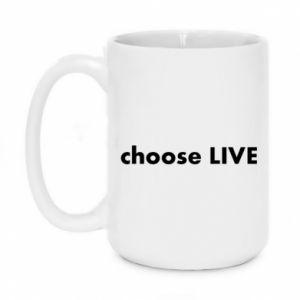Kubek 450ml Choose live
