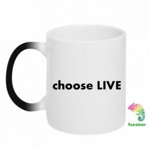Kubek-magiczny Choose live