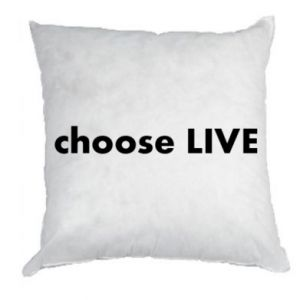 Pillow Choose live