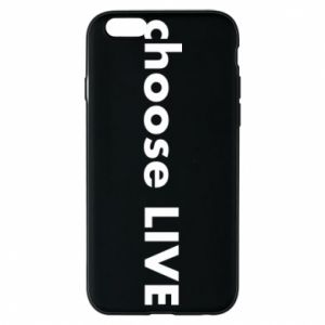 Etui na iPhone 6/6S Choose live