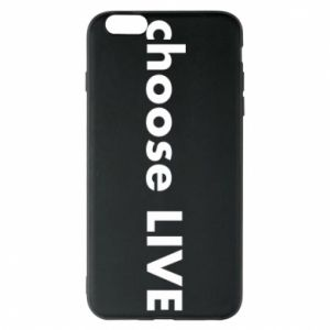 Etui na iPhone 6 Plus/6S Plus Choose live