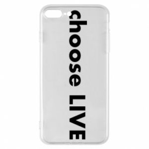 Etui na iPhone 8 Plus Choose live