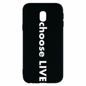 Phone case for Samsung J3 2017 Choose live