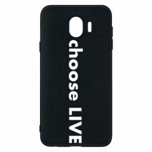 Etui na Samsung J4 Choose live