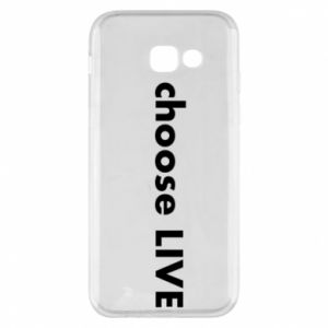 Etui na Samsung A5 2017 Choose live