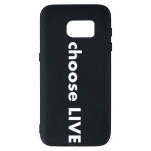 Etui na Samsung S7 Choose live