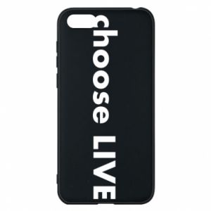 Phone case for Huawei Y5 2018 Choose live
