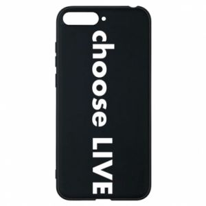 Phone case for Huawei Y6 2018 Choose live