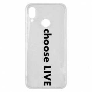Phone case for Huawei P Smart Plus Choose live