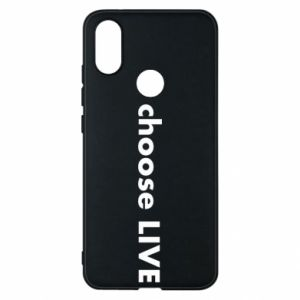 Phone case for Xiaomi Mi A2 Choose live