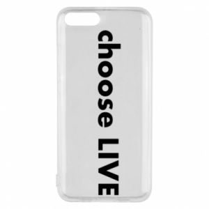 Phone case for Xiaomi Mi6 Choose live