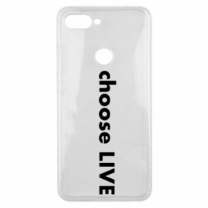 Phone case for Xiaomi Mi8 Lite Choose live