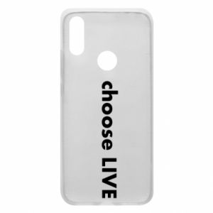 Phone case for Xiaomi Redmi 7 Choose live