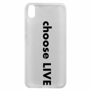 Phone case for Xiaomi Redmi 7A Choose live