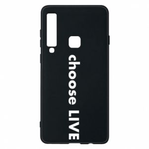 Phone case for Samsung A9 2018 Choose live