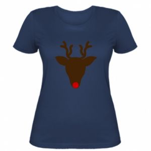 Women's t-shirt Christmas deer