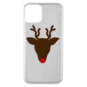 Etui na iPhone 11 Christmas deer