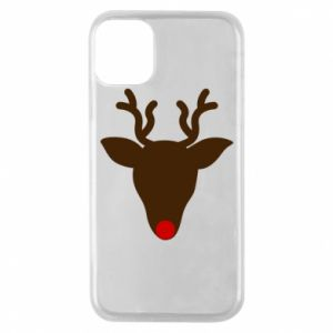 Phone case for iPhone 11 Pro Christmas deer